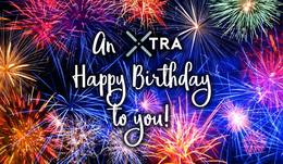 An Xtra Happy Birthday; September 13th