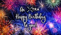 An Xtra Happy Birthday; October 12th